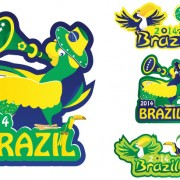 Link toCreative 2014 brazil world cup logos vector material