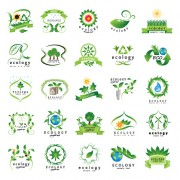 Link toCreative ecology logos design graphic set 02