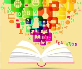 Creative education idea infographics vector 04