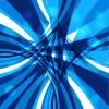 Dynamic lines blue abstract vector background 01