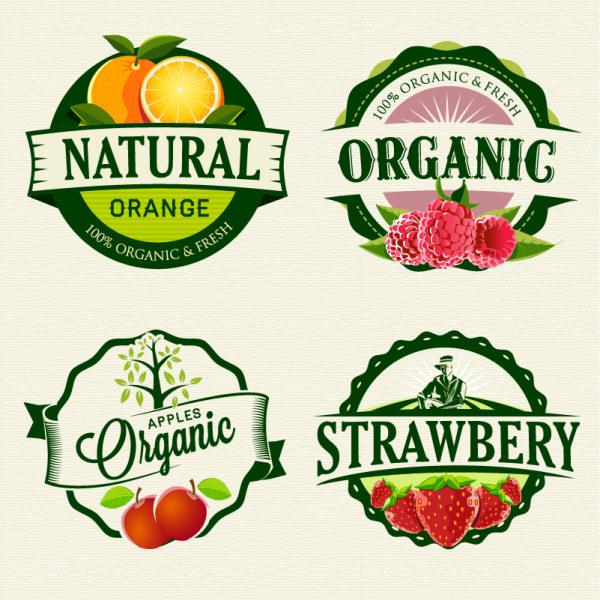 ... labels retro style vector - Vector Food, Vector Label free download