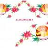 Exquisite xmas lace ornaments vector set 14