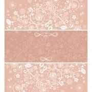Link toFloral decor patterns background vector 02