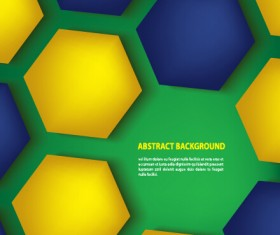 Green style football abstract background vector 01