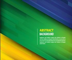 Green style football abstract background vector 02