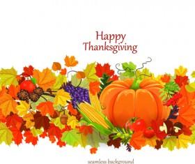 Happy thanksgiving background design vector 01
