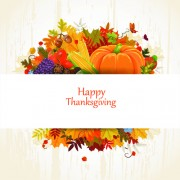 Link toHappy thanksgiving background design vector 05