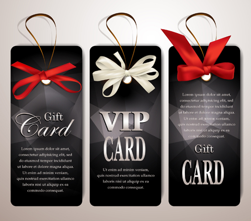 Luxury club cards design elements vector 03 Vector Card free