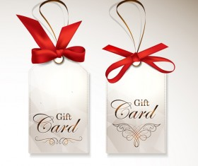 Luxury gift cards vector graphics 02