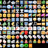 Mini colored icons pack