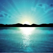 Link toMountains with sunset beautiful background vector 01