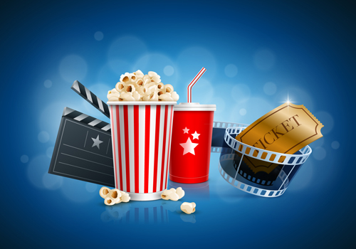movie time design elements vector backgrounds 02 free download .