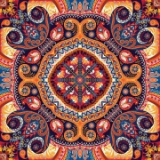Link toOrnate paisley pattern seamless vector material 03