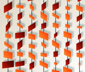 Paper piece background vector graphics 01