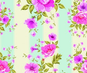 Pink roses pattern seamless vector 01