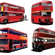 Link toRealistic buses urban vector set 02