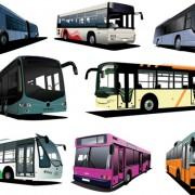 Link toRealistic buses urban vector set 03