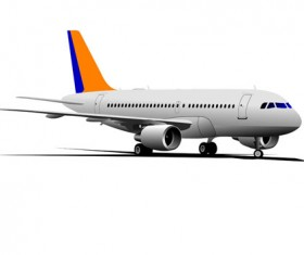Realistic planes design vector graphic 03