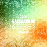 Link toRetro and grunge style background art vector 02