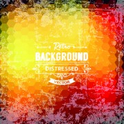 Link toRetro and grunge style background art vector 03