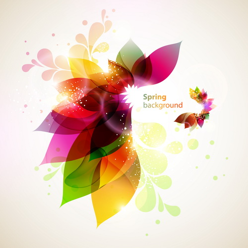 smooth and colorful design background vector 01 free download