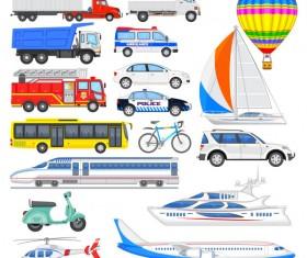 Sorts transport tool set vector