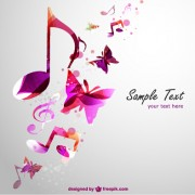 Link toStylish colorful music vector background graphics 02
