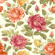 Link toVector seamless retro flower pattern graphic
