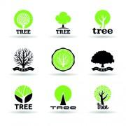 Link toVector trees logos creative design set 02