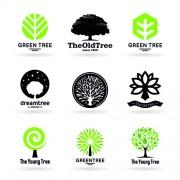 Link toVector trees logos creative design set 03