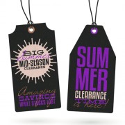 Link toVintage summer discount sale tags vector material 01