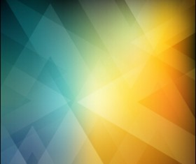 Abstract geometric shapes colorful background vector 01