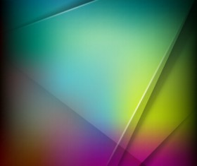 Abstract geometric shapes colorful background vector 03