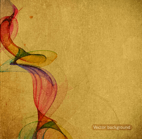 Abstract grunge background retro style vector 01 free download