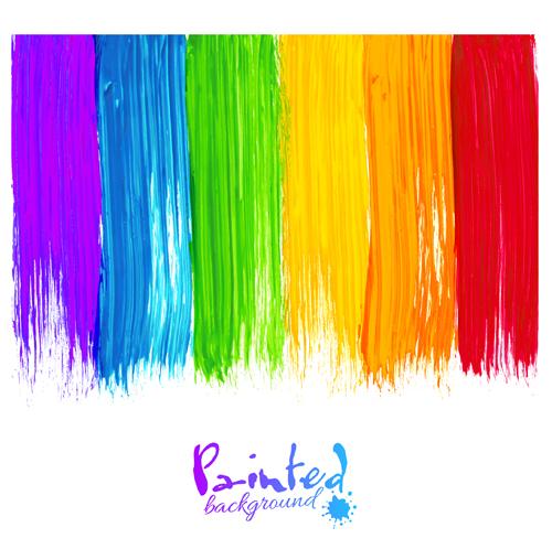 rainbow powerpoint template - gse.bookbinder.co, Modern powerpoint
