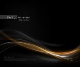 Black dynamic wave vector background