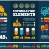 Business Infographic creative design 1709
