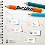 Link toBusiness infographic creative design 1795