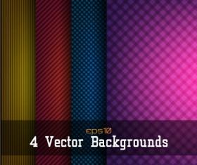 Checkered pattern modern background vector