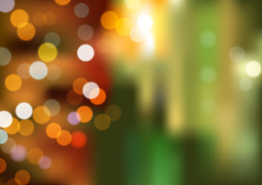 City Night Blurred Background Vector Free Download