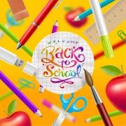 Link toClassic school background creatime vector 05