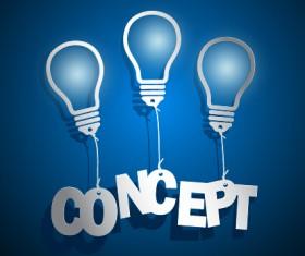Concept idea business background vector 04
