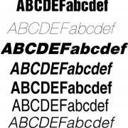 Link toCreative helvetica fonts set