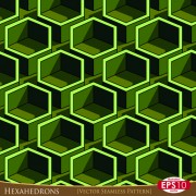Link toCreative hexahedron vector seamless pattern vector 04
