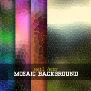 Link toCreative mosaic background art vector 02