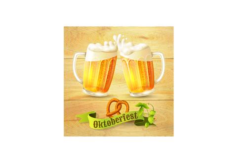Creative Oktoberfest Beer Poster Vector 02