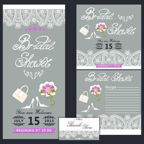 Creative wedding invitation and postcard vector 02 free download creative wedding invitation and postcard vector 02 stopboris Choice Image