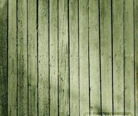 Dark green wooden texture vector background