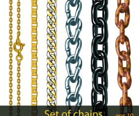 chain vector - for free download