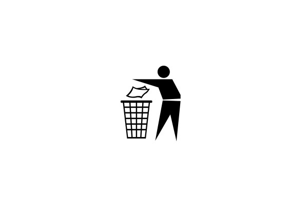 Do not litter vector icon - Life Icons, Vector Icons free ...